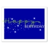 STELLAR BIRTHDAY (White Unlined Fastick® Envelope)