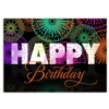 BIRTHDAY BLOW-OUT (Gold Lined White Fastick® Envelope)
