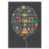 PERFECT BIRTHDAY (Silver Lined White Fastick® Envelope)