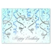THE CELEBRATION IS ON (Silver Lined White Fastick® Envelope)