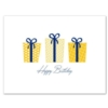 GIFTS APLENTY - YELLOW (White Unlined Envelope)