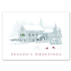 GRISTMILL GREETING (Red Lined White Fastick® Envelope)