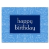 SIMPLE BIRTHDAY - PERIWINKLE (White Unlined Fastick® Envelope)