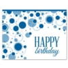 BUBBLY BIRTHDAY WISHES (White Unlined Envelope)