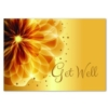 FLORAL GET WELL (White Unlined Envelope)