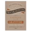 EXPRESSING GRATITUDE (Gold Lined White Envelope)