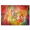 COLORFUL ARRAY OF THANKS (Gold Lined White Envelope)