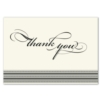 STATELY THANK YOU (Ecru Unlined Envelope)