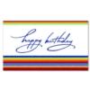 BIRTHDAY CHEER (White Unlined Envelope)