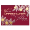 IN APPRECIATION (Gold Lined White Fastick® Envelope)