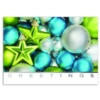 GREETINGS OF COLOR (Silver Lined White Fastick® Envelope)