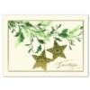 GOLDEN STARS (Gold Lined Ecru Envelope)