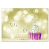 MAKE A WISH CUPCAKE (Gold Lined White Fastick® Envelope)