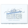 BIRTHDAY PACKAGE (Silver Deckle Edge White Fastick® Envelope)