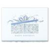 BIRTHDAY PACKAGE (Silver Deckle Edge White Envelope)