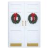 DOORWAY GREETINGS (Gold Lined White Envelope)