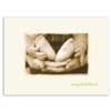 BABY CONGRATS (Gold Lined Ecru Envelope)