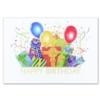 BIRTHDAY BASH (Gold Lined White Fastick® Envelope)