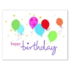 STARS AND BALLOONS (White Unlined Envelope)