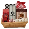 Coffee & Cookie Basket with 20 Oz. Himalayan Tumbler