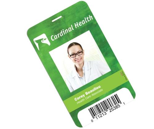 Plastic Identification Badge - 3 5/8