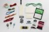 Imported Oval Carabiner Metal/Plastic Retractable Badge Reel