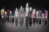 1 oz Single Color Moisture Bead Sanitizer in Trapezoid Bottle + Sleeve