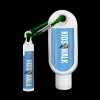 1.9 oz SPF 50 Sunscreen with Carabiner and SPF 15 Lip Balm in White Tube wi