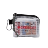 First Aid Kit in a Zippered Clear Nylon Bag