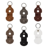 Ryder Leather Earbud Keychain
