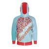 Rusty Import Unisex Dye-Sublimated Raglan Full-Zip Hoodie