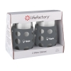 17 oz. lifefactory® Wine Glass with Silicone Sleeve 2 Pack