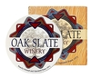 Round Absorbent Stone Coasters (4-Pack)
