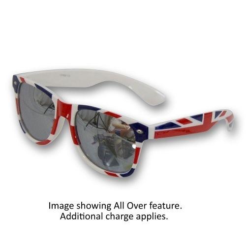 Sunglasses-Metallic Lenses