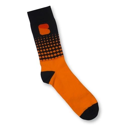 Premium Woven Socks, Crew Size