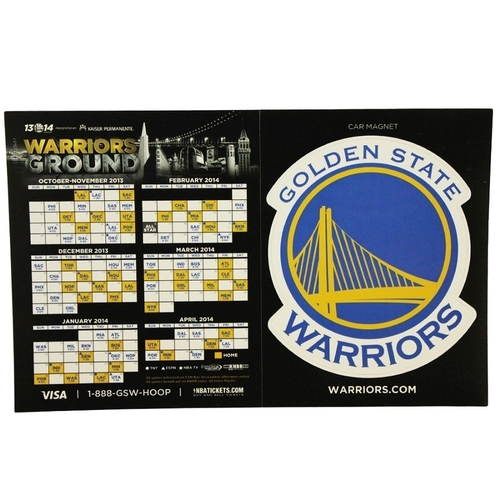 Combination Schedule and Car Magnet