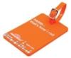 Soft PVC 2D Luggage Tag