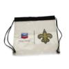 Clear PVC Drawstring Bag