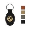 Leatherette Key Tag - Oval