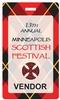 Laminated Paper Event Badge