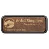 Leatherette Framed Badge