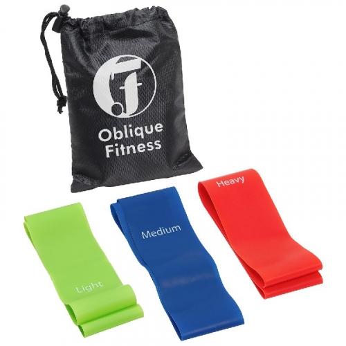Power Grip 3-Piece Fitness Band Set