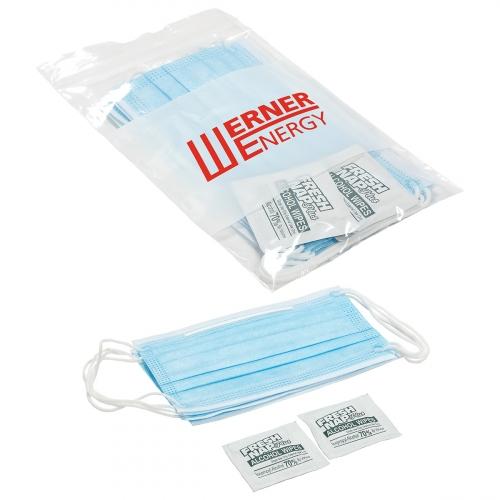 PPE Basic Kit with Imprinted Bag