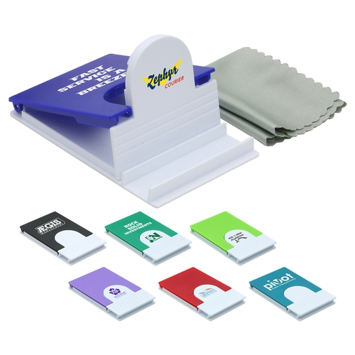 Phone Holder with Microfiber Cloth