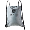 Chrome Fleece String Backpack by Taroko™