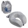 Rest Up Collapsible Neck Pillow with Carrying Pouch