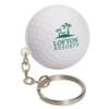 Golf Ball Stress Reliever Key Chain