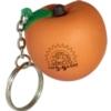 Peach Stress Reliever Key Chain