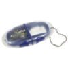 Compact Pillbox Key Chain