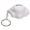 Cloud Stress Reliever Key Chain